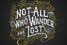 Though like a wanderer
