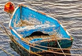 Don't sink the boat when you lose hope.