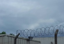 A fence or offence.