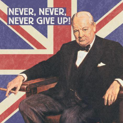 Winston Churchill Depression